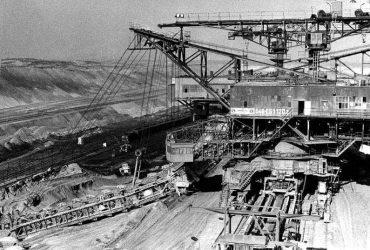 Tagebau Seese-Ost 1981