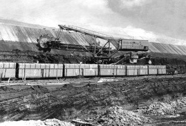 Tagebau Gräbendorf 1989