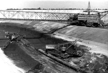 Tagebau Skado 1976