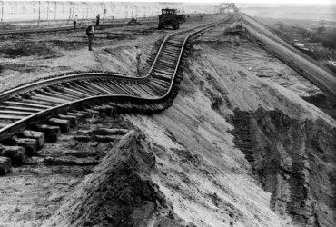 Tagebau Koschen 1963
