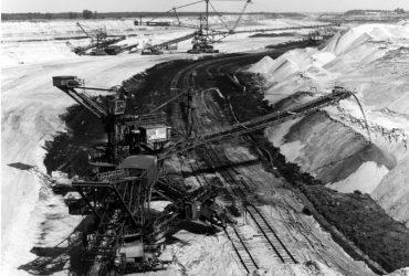 Tagebau Dreiweibern 1986