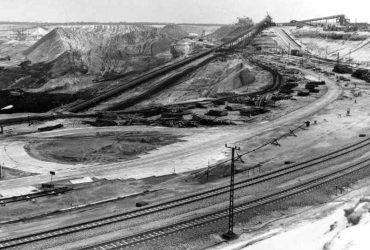 Tagebau Bärwalde 1977