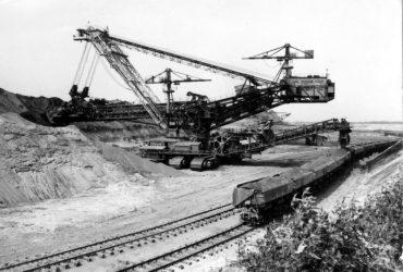 Tagebau Golpa-Nord 1980