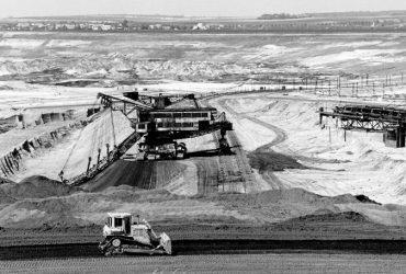 Stillgelegter Tagebau Nachterstedt 1998
