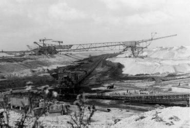 Tagebau Delitzsch-Südwest 1985