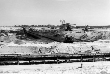 Tagebau Breitenfeld 1991