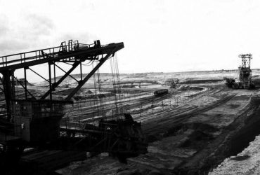Tagebau Mücheln 1993