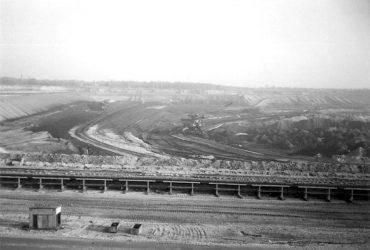Tagebau Cospuden 1990