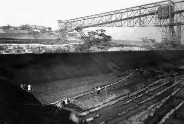 Tagebau Espenhain 1950