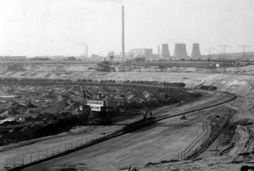 Tagebau Bockwitz 1991