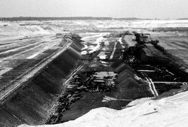 Tagebau Haselbach 1975