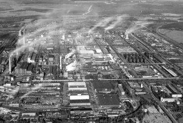 Industriestandort Schwarze Pumpe 1991