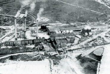 Brikettfabrik Holzweißig 1923