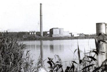 Industriestandort Borna 1989