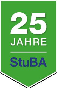 Logo_25_jahre_StuBA_hoch